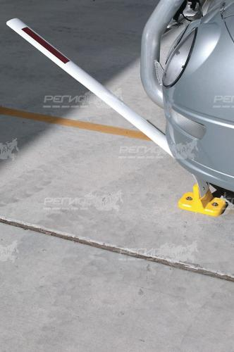 Демонстрация наезда на столбик стилфлекс С3П