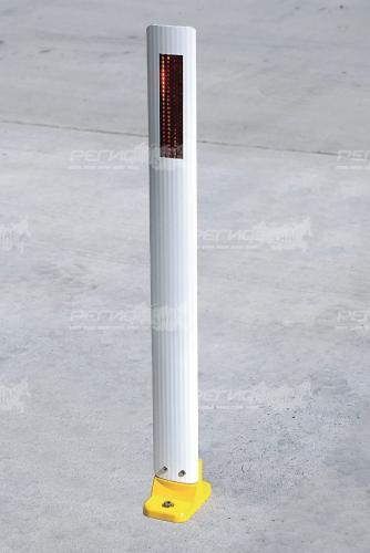 Внешний вид столбика с3п сигнального дорожного