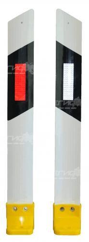 Столбик С3П сигнальный дорожный вид с двух сторон