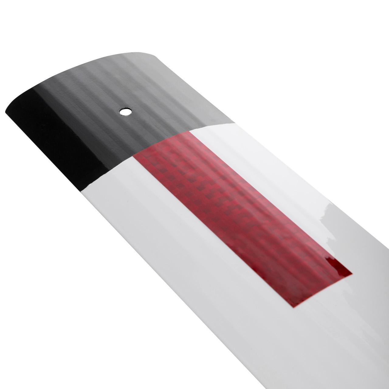 Столбик сигнальный дорожный стилфлекс с прямым верхом с пленкой вид пленки